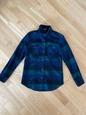 Woolrich Long Sleeve Shirt multicolored wool