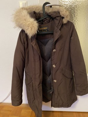 Woolrich Down Jacket bronze-colored