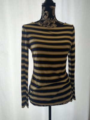 Woolovers Stripe Shirt multicolored viscose