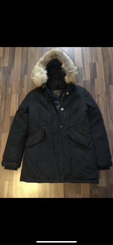 Woolrich Abrigo de plumón negro Poliéster