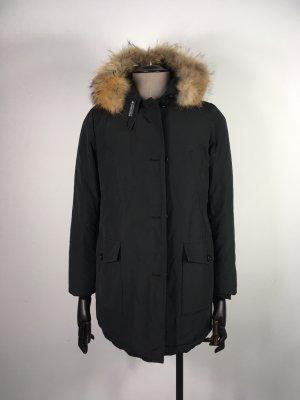 Woolrich Arctic Daunenparka schwarz XL 40 42 Parka Winterjacke Winterparka Jacke Mantel wie NEU