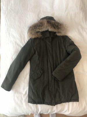 Woolrich Winterjas khaki