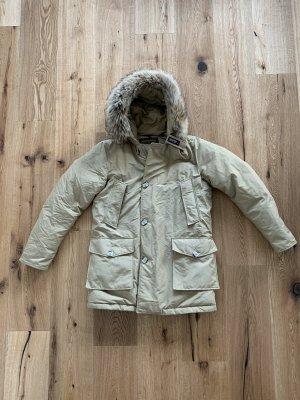 Woolrich Winterjack beige