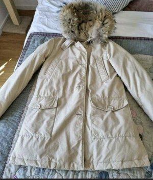 Woolrich Kurtka zimowa jasnobeżowy-beżowy