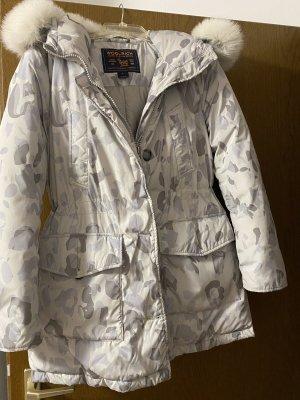 Woolrich Down Jacket light grey