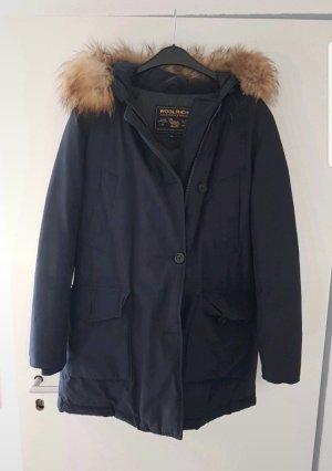 Woolrich Długa kurtka ciemnoniebieski