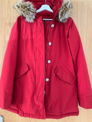 Woolrich Abrigo de invierno rojo