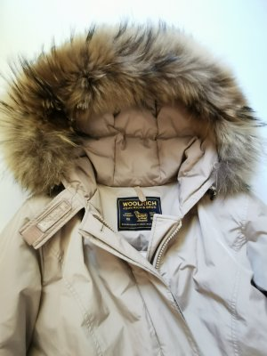Woolrich Down Jacket oatmeal
