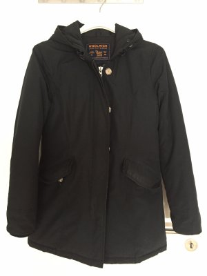 Woolrich Down Jacket dark blue