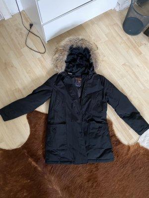 Woolrich Arctic Parka women schwarz winterjacke Daunenjacke