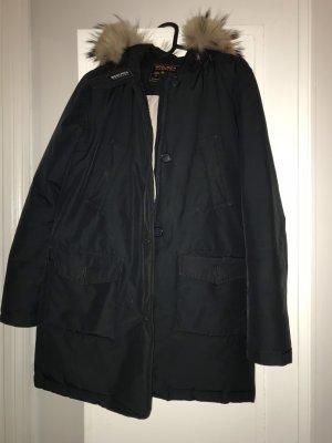 Woolrich Winter Jacket dark blue-blue
