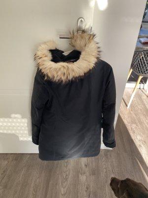 Woolrich Down Coat blue-dark blue