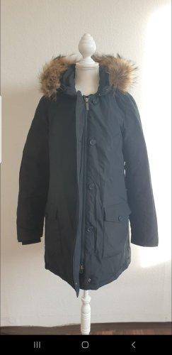 Woolrich Parka marrone-blu scuro