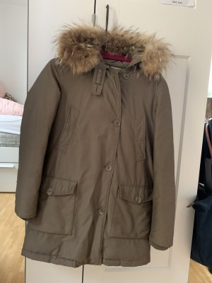 Woolrich Down Coat lime-green