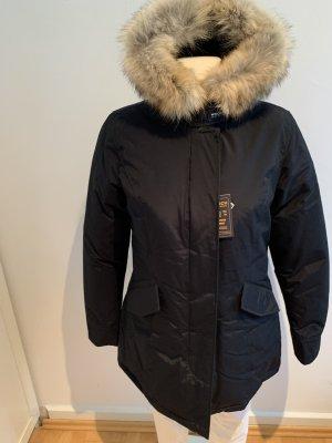 Woolrich Abrigo de plumón azul oscuro