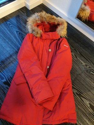 Woolrich Chaqueta de plumón rojo ladrillo