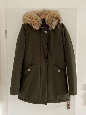 Woolrich Piumino lungo cachi