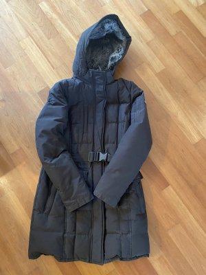 Woolrich Down Coat dark brown