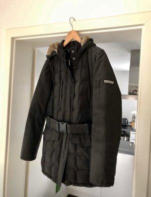 Woolrich Blizzard Jacke Winterjacke schwarz Größe L