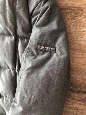 Woolrich Manteau en duvet gris brun-gris anthracite
