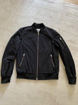 Woolrich Blouson aviateur noir polyester