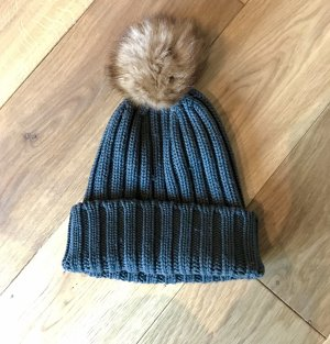 Woolrich Cappello in pelliccia cachi