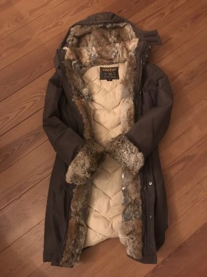 Woolrich Donsjack bruin-donkerbruin