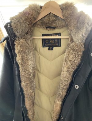 Woolrich Down Coat black-light brown