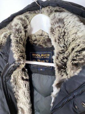 Woolrich Donsjas zwart Bont