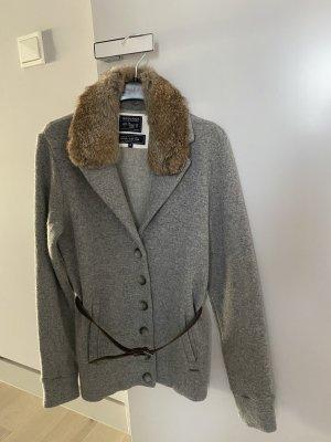 Woolrich Wollen blazer grijs