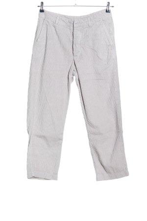 Woolrich Pantalón de pana gris claro look casual