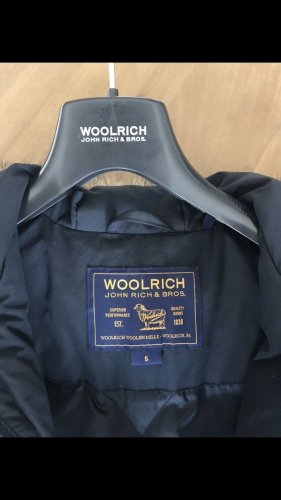 Woolrich Doudoune bleu foncé