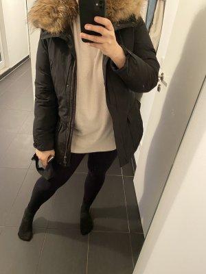 Woolrich Veste longue noir