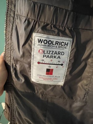 Woolrich Down Coat grey brown-taupe