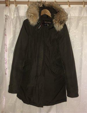 Woolrich Manteau en duvet brun