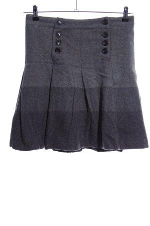 Woolrich Jupe à plis gris clair moucheté style décontracté