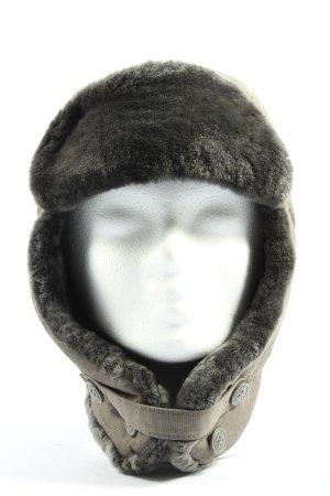 Woolrich Aviator Hat khaki casual look
