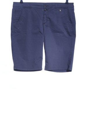 Woolrich High-Waist-Shorts blau Casual-Look
