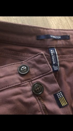 Woolrich Chinos grey lilac cotton
