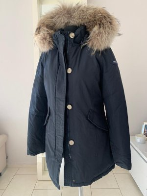 Woolrich Down Coat dark blue