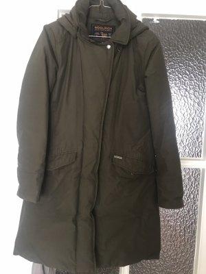 Woolrich Down Jacket khaki-green grey