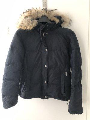 Woolrich Bomber Jacket dark blue