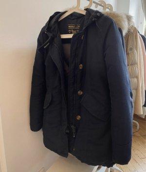 Woolrich Giacca in pelliccia blu scuro