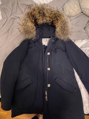 Woolrich Winterjack donkerblauw