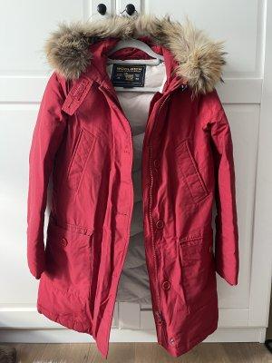 Woolrich Kurtka zimowa czerwony