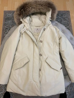 Woolrich Down Jacket natural white-cream
