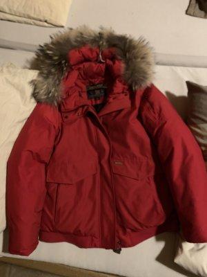 Woolrich Jacke Rot Neu Reduziert