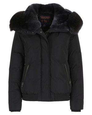 Woolrich Outdoor jack zwart