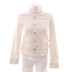 Woolrich Between-Seasons Jacket cream cotton