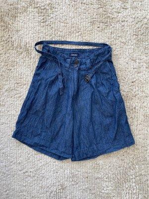 Woolrich Pantalón corto de tela vaquera azul